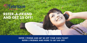 Fabrique Refer-a-friend Promo