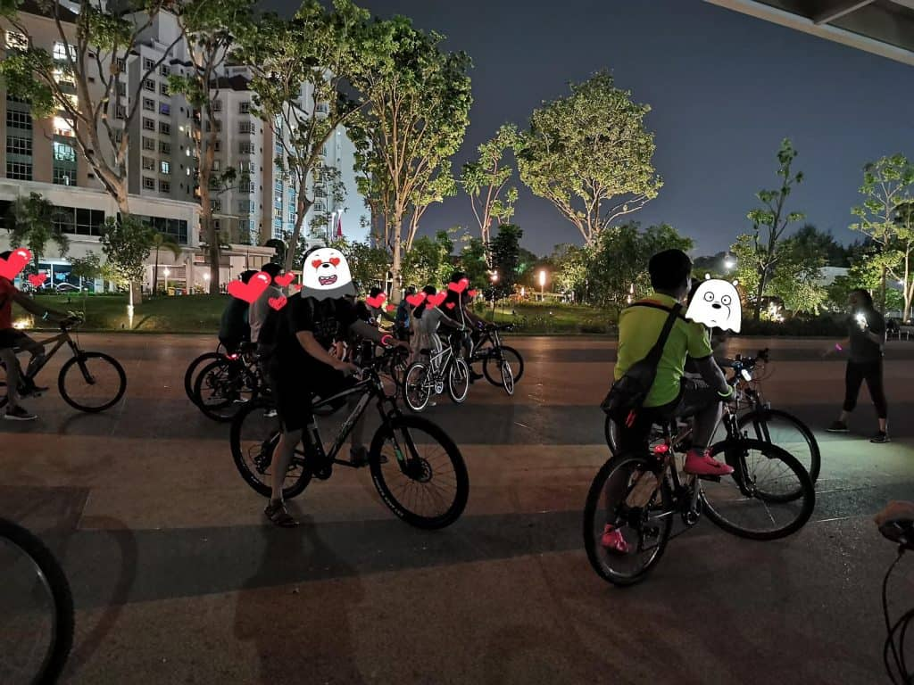 Night Cycling Adventure