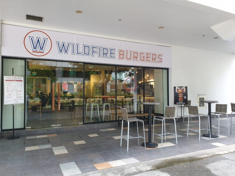 Wildfire burger