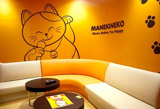 Manekineko room