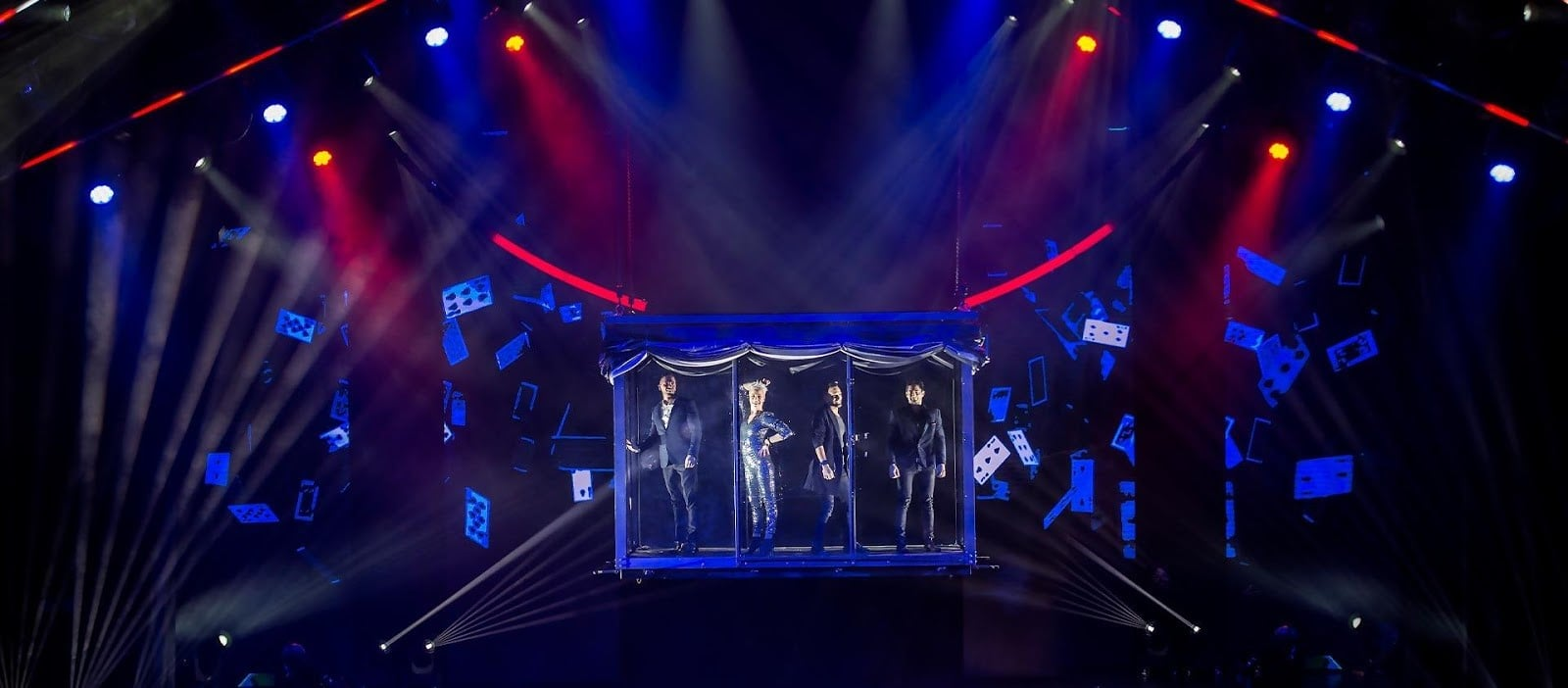 now you see me live show