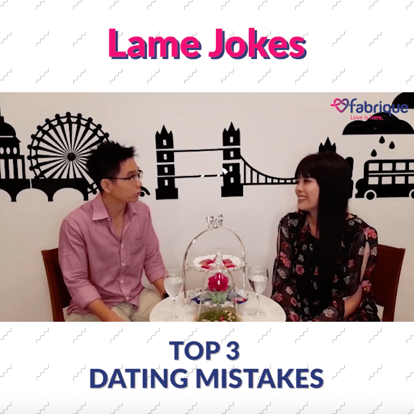 Top 3 Dating Mistakes You Should Avoid