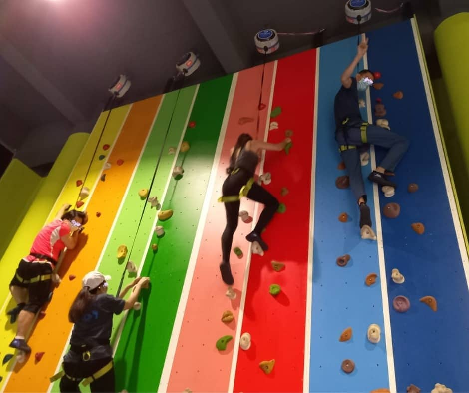 Climb Your Way Into His/Her Heart: Indoor Rock-Climbing Event